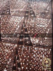 Batik Klasik Jogja Motif Tambal Klasik Latar Hitam