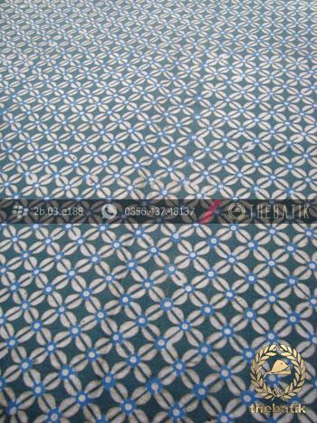Batik Pewarna Alami Motif Ceplokan Kecil Indigo