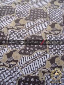 Batik Pewarna Alami Motif Sekarjagad Klasik Coklat