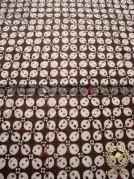 Batik Klasik Jogja Motif Kawung Bulet Sogan