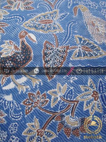 Batik Tulis Pewarna Alami Flora Fauna Indigo