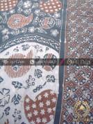 Batik Tulis Pewarna Alami Keongan Tumpal Kawung