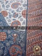 Batik Tulis Pewarna Alami Keongan Tumpal Parang