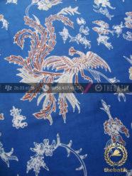 Batik Tulis Pewarna Alami Motif Peksi Biru Indigo