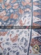 Batik Tulis Pewarna Alami Motif Semen Kombinasi Tumpal