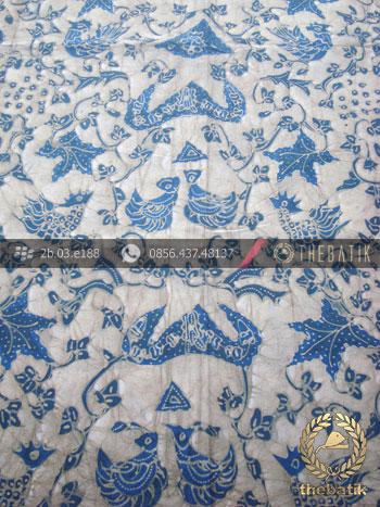 Batik Tulis Pewarna Alami Wahyu Tumurun Latar Putih