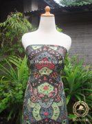 Bahan Kemeja Batik Sutera ATBM Klasik Hijau
