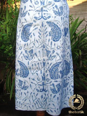Batik Tulis Pewarna Alami Sido Asih Latar Putih