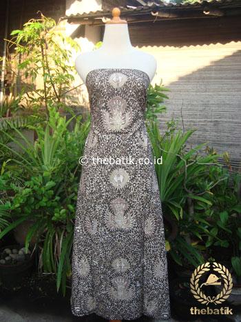 Batik Tulis Pewarna Alami Sido Mukti Coklat