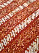 Kain Batik Jogja Klasik Kemerahan Motif Klithik Nithik