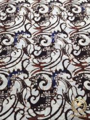 Kain Batik Panjang Warna Sogan Klasik Ceplok Ukel