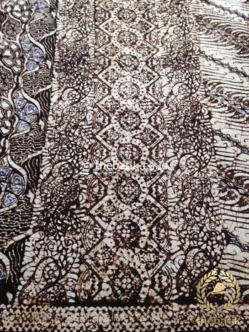 Kain Batik Panjang Warna Sogan Klasik Kombinasi 3 Motif