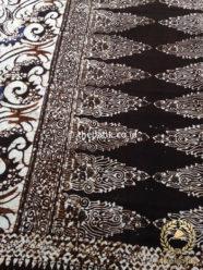 Sarung Batik Warna Sogan Klasik Motif Tumpal
