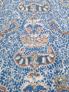 Kain Batik Tulis Warna Alam Indigo Wahyu Tumurun