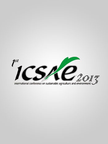 Tas Seminar International Conference on Sustainable Agriculture and Environment (ICSAE)