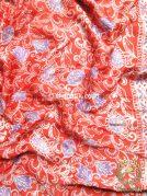 Kebaya Kain Batik Sutera Bawahan Bahan Rok Atasan Baju Orange
