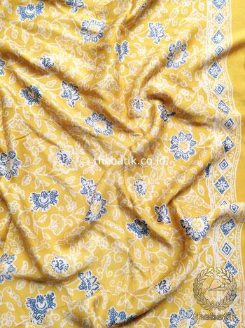Bahan Bawahan Batik Kebaya Sutera Baju Rok Kain Atasan Kuning