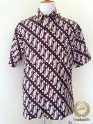 Kemeja Batik Pendek Motif Parang Jogja