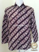 Kemeja Batik Panjang Motif Parang Kusumo
