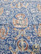 Kain Batik Tulis Warna Alam Motif Sido Mukti Coklat Biru