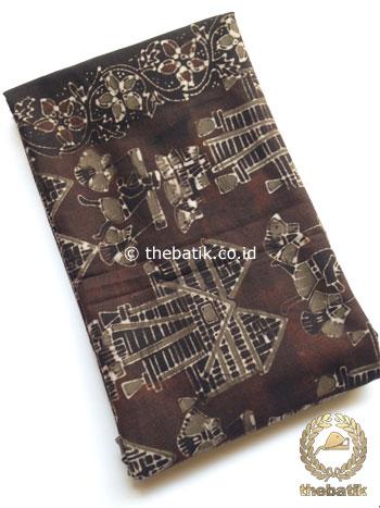 Kain Batik Warna Alam Motif Petani Etnik