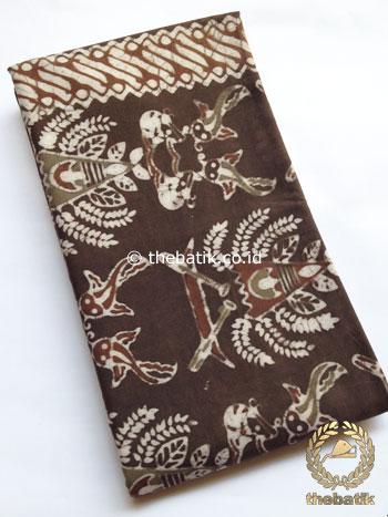 Kain Batik Warna Alam Motif Ikan Lele
