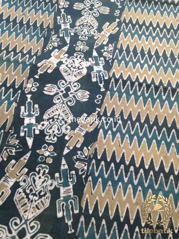 Kain Batik Warna Alam Motif Papua Etnik