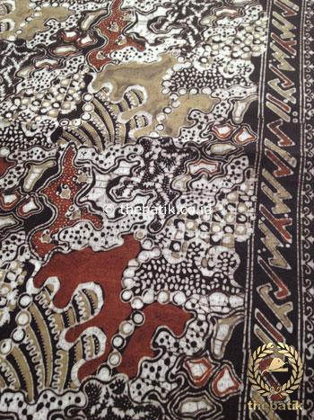 Kain Batik Warna Alam Motif Sekarbanyu