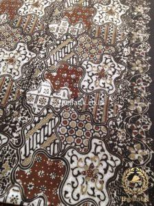 Kain Batik Warna Alam Motif Sekarjagad