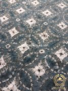 Kain Baju Batik Shibori Bahan Pewarna Alam Indigo Biru Putih