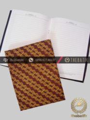 Seminar Kit Murah Unik Bentuk Sampul Buku Agenda Batik