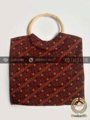 Souvenir Tas Batik Rotan untuk Mukena Buku Yasin Acara Pengajian