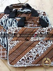 Ready Stok! Tas Laptop Batik Murah untuk Souvenir Acara Seminar Pelatihan