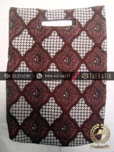 Tas Promosi Murah dari Bahan Batik Gratis Sablon Tulisan Logo