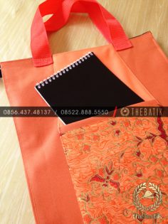 Tas Seminar Kit Batik Model Jinjing Eksklusif Warna Bebas