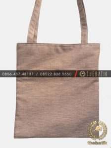 Tas Seminar Kit Tote Bag Model Karung Goni Burlap Jute