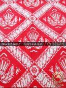 Kain Batik Bahan Baju 2 Meteran Ceplok Gurdo Jambon Pink