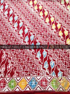 Grosir Kain Batik Primisima Coletan Parang Lereng Merah