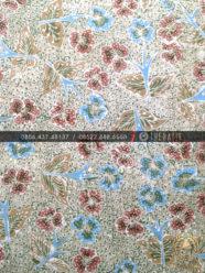Batik Tulis Warna Alam Gringsing Floral Hijau Merah