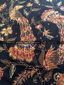 Jual Bahan Baju Batik - Kain Batik Tulis Motif Burung Merak Latar ... 114ae2dc7b