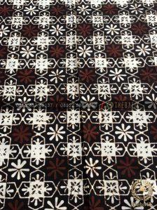Batik Klasik Jogja Motif Ceplokan Kembang Sogan