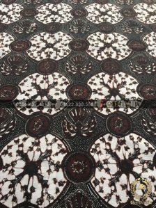 Batik Sogan Jawa Motif Gurdo Piringan