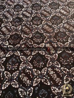 Kain Batik Tulis Jogja Motif Prabu Anom Hitam