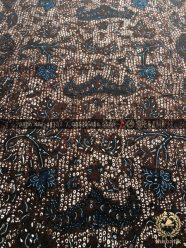 Kain Batik Tulis Jogja Wahyu Tumurun Klasik Hitam