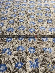 Kain Batik Tulis Bahan Seragam Motif Gringsing Colet Biru