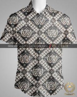 Model Baju Kemeja Seragam Batik Kantor / Keluarga Motif Klasik-7