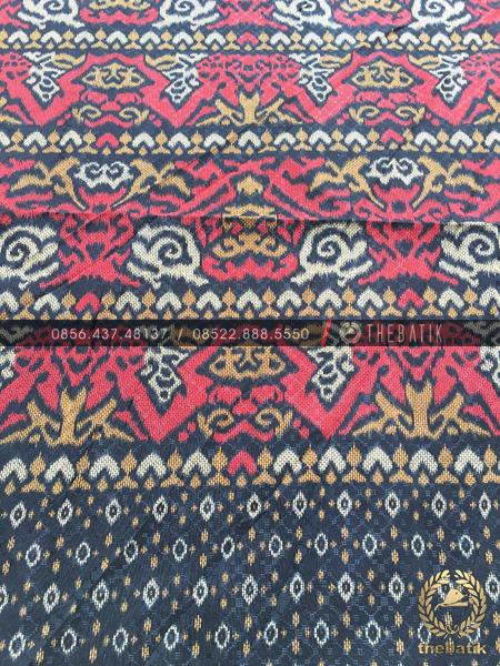 Bahan Batik Meteran Model Tenun Bagus Halus