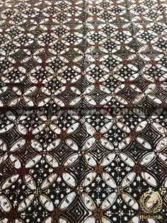 Kain Batik Sogan Klasik Kawung Remukan Jogja